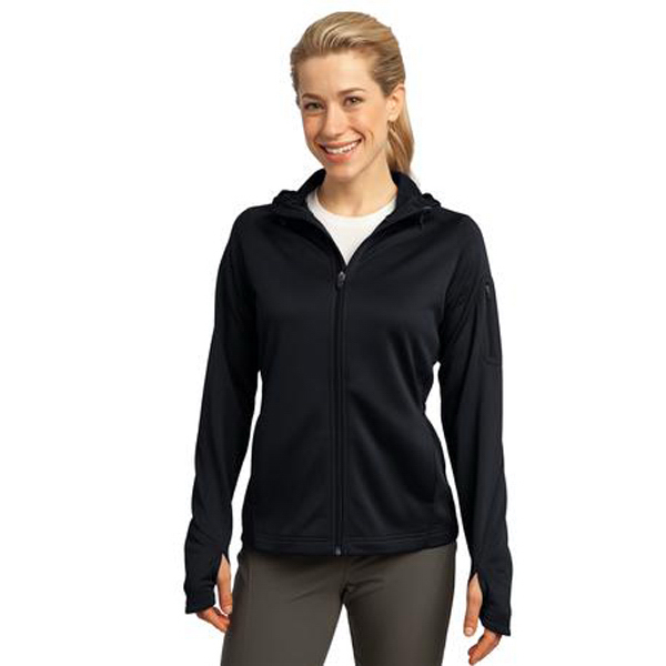 Custom Sport-Tek (R) Ladies' Tech Fleece Full Zip Hooded Jacket