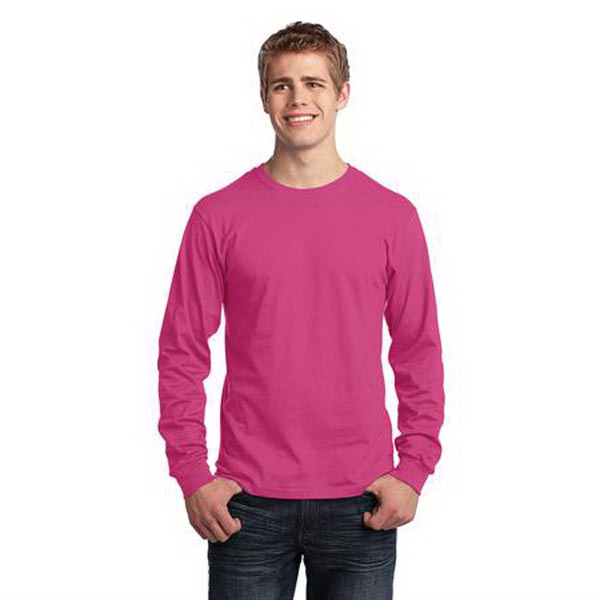 Promotional Port & Company (R) Long Sleeve Cotton T-Shirt
