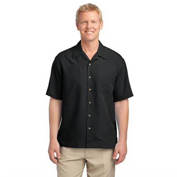 Promotional Port Authority (R) Patterned Easy Care Camp Shirt
