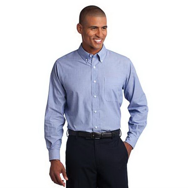 Promotional Port Authority (R) crosshatch easy care shirt