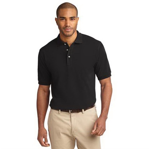 Custom Port Authority® Tall Pique Knit Sport polo