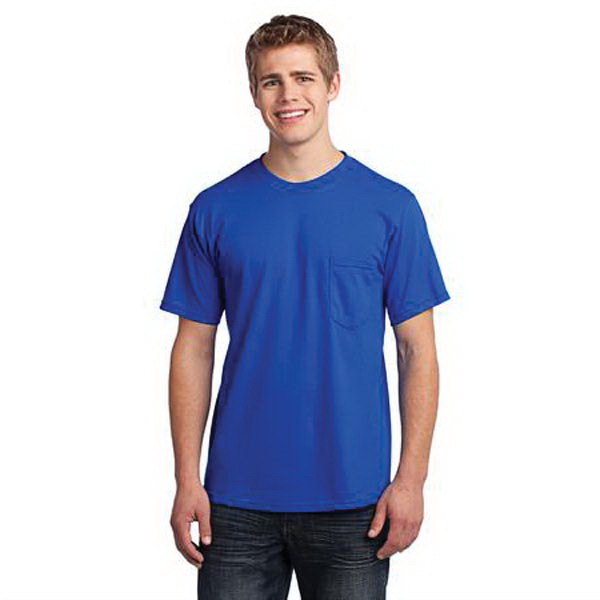Printed Port & Company (R) American Tee with Pocket