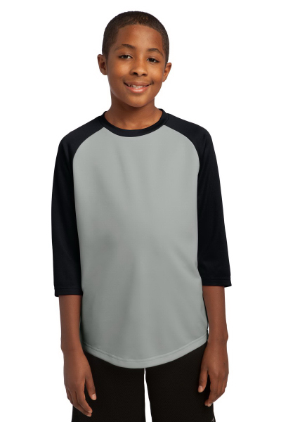 Printed Sport-Tek (R) PosiCharge (TM) Youth Baseball Jersey