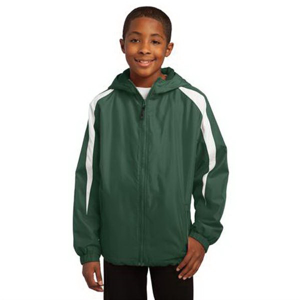 Promotional Sport-Tek (R) Youth Fleece Lined Colorblock Jacket
