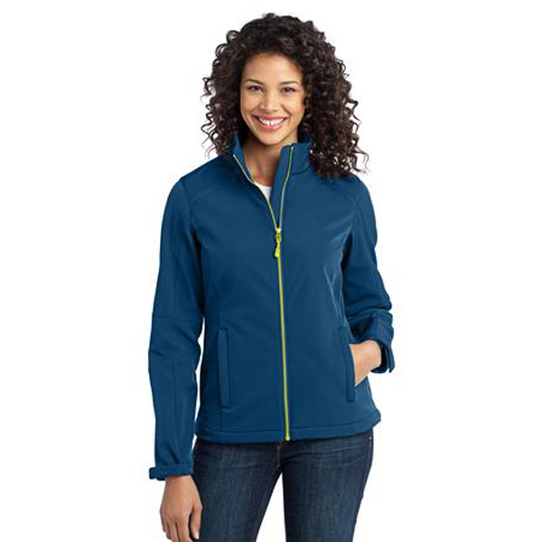 Customized Ladies' Port Authority (R) Traverse soft shell jacket