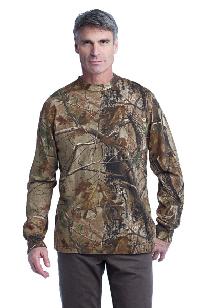Customized Russell Outdoors (TM) Realtree explorer long sleeve t-shirt