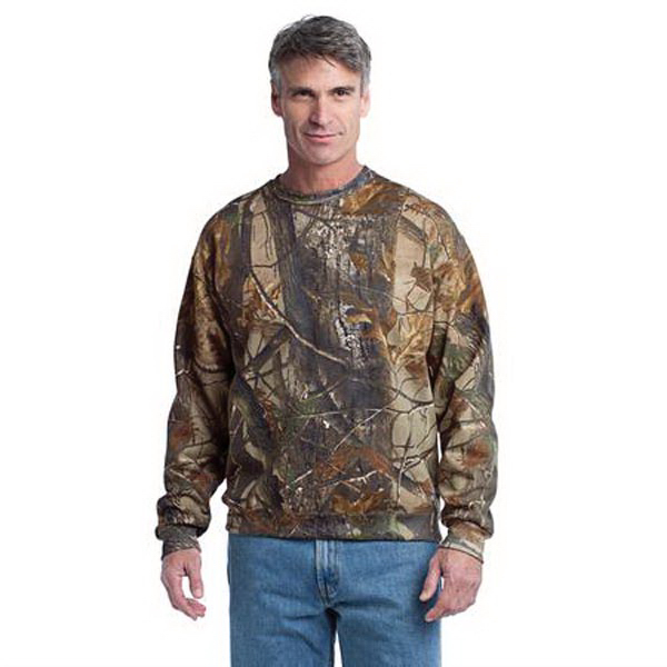 Personalized Russell Outdoors (TM) Realtree crewneck sweatshirt