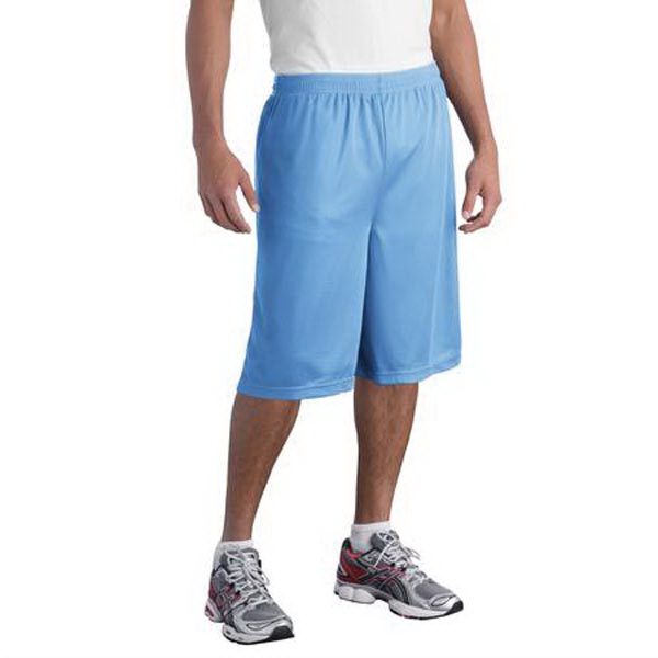 Imprinted Sport-Tek(R) Posicharge Extra long mesh (TM) shorts