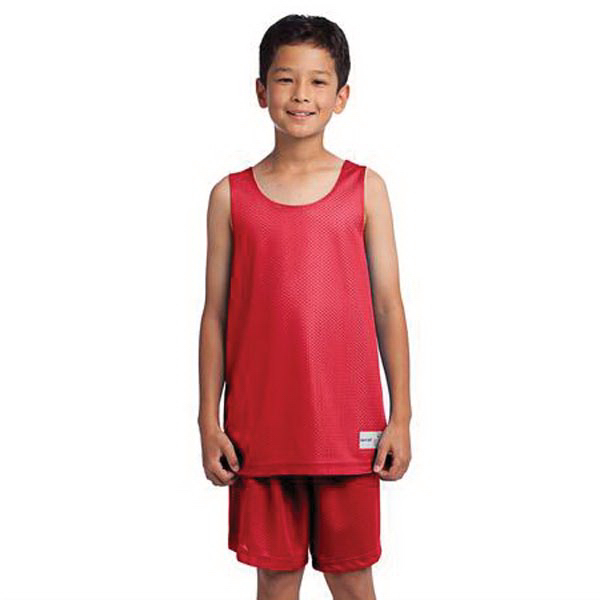 Personalized Youth Sport-Tek(R) Posicharge Mesh (TM) reversible tank
