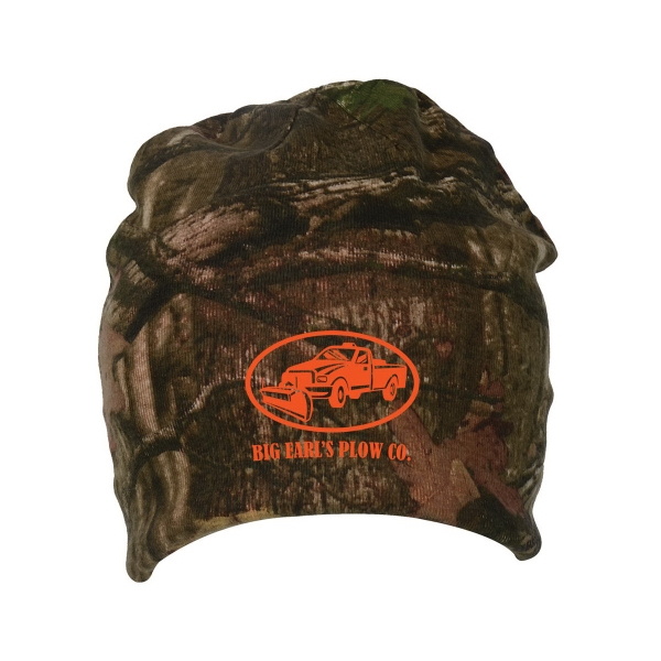 Personalized Camo Knit cap