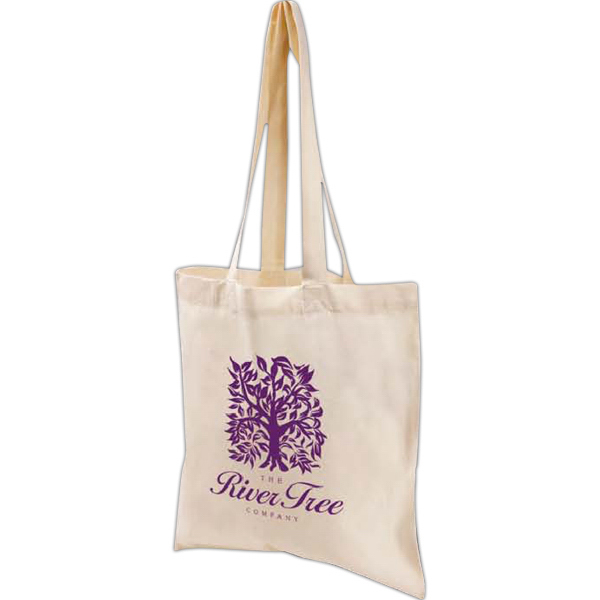 Imprinted Natural Value Economy Tote