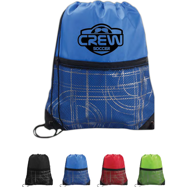 Customized Printed Mesh Pocket Sport Pack