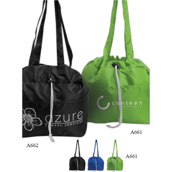 Customized Drawstring Lunch Tote