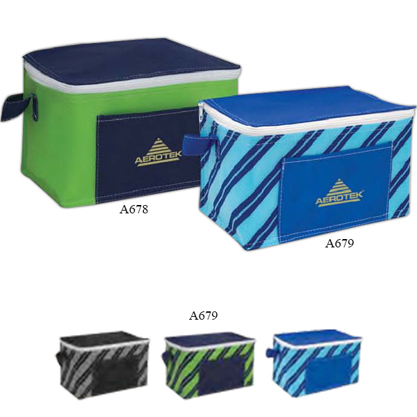 Imprinted Poly Pro Printed 6-Pack Cooler