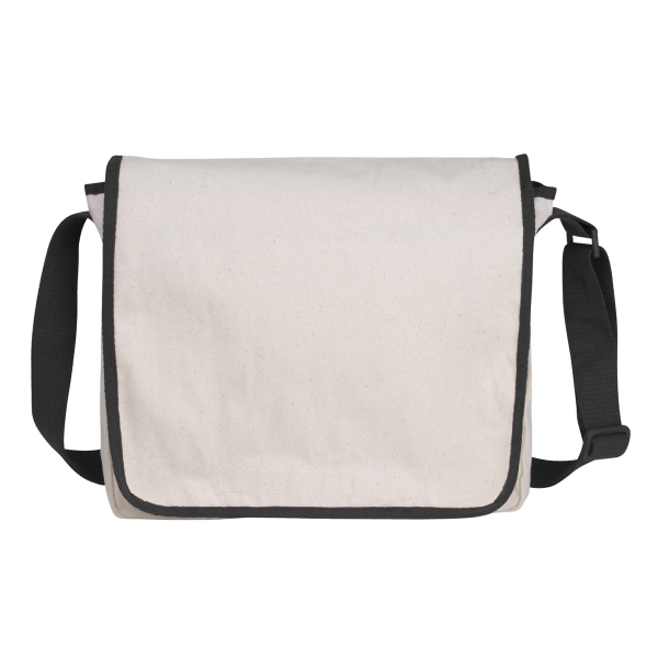 Personalized V Natural (TM) Recycled Cotton Messenger