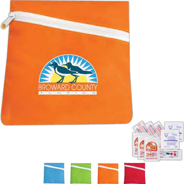 Printed Beach Amenities Kit