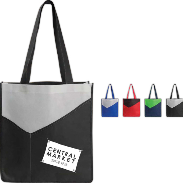 Printed Poly Pro Apex Tote