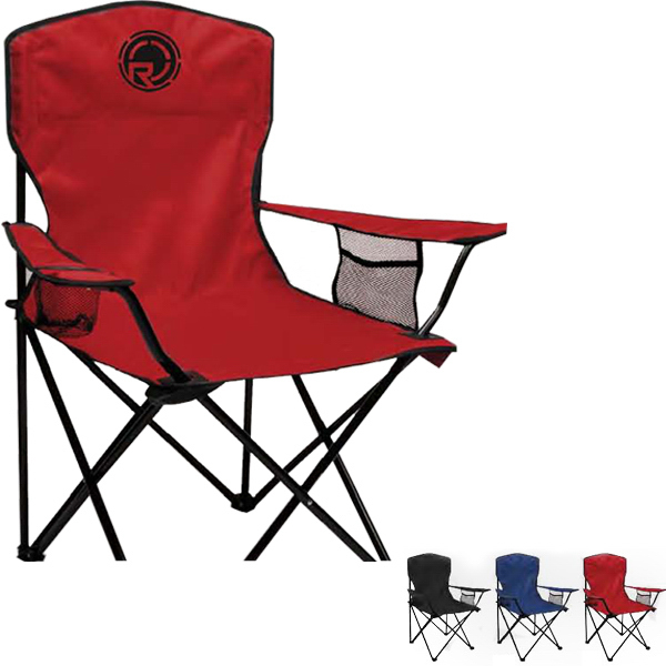 Imprinted Folding Chair With Carrying Bag