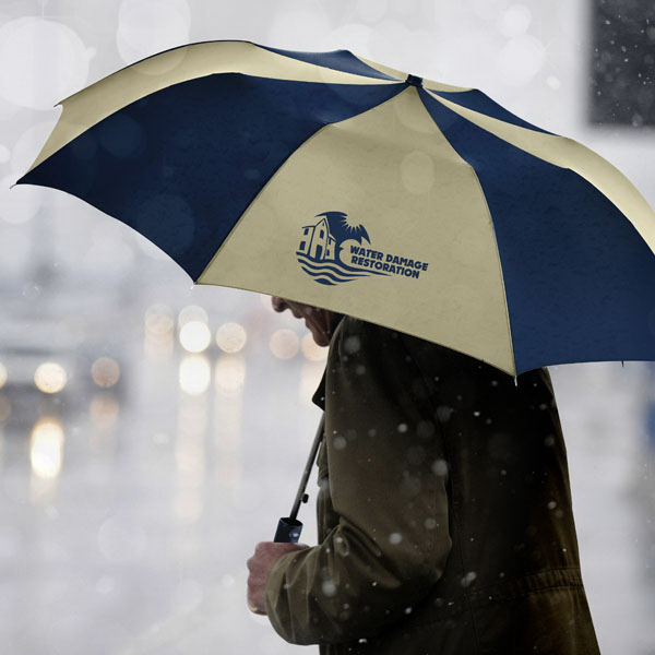 Promotional Barrister Auto Open Folding Umbrella