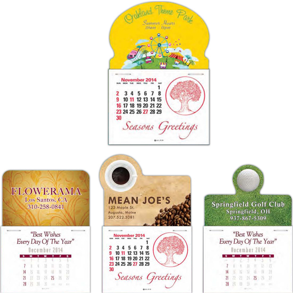 Personalized Full Color Press-N-Stick (TM) Calendar