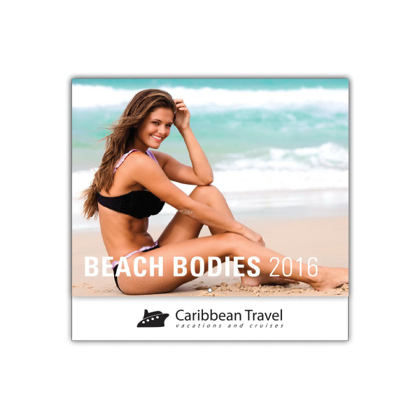 Customized Beach Bodies 13-Month Wall Calendar