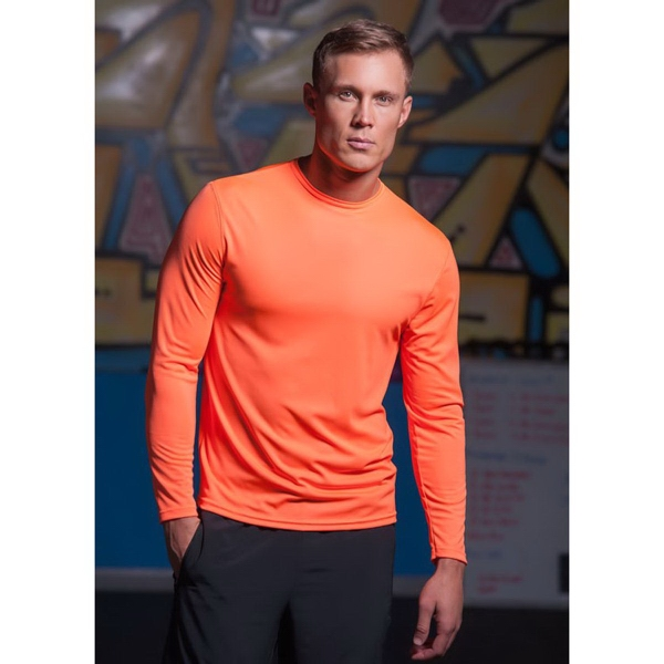 Imprinted Chicago Long Sleeve Syntrel(TM) Training Tee