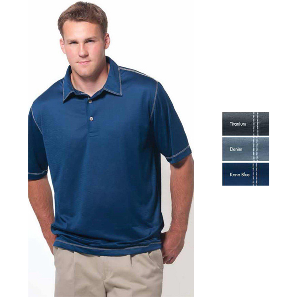Promotional Key West Short Sleeve Syntrel(TM) Polo