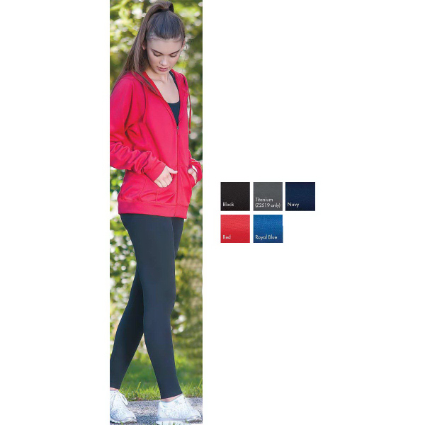 Personalized Competition-W Women's Hooded Performance Full Zip Fleece