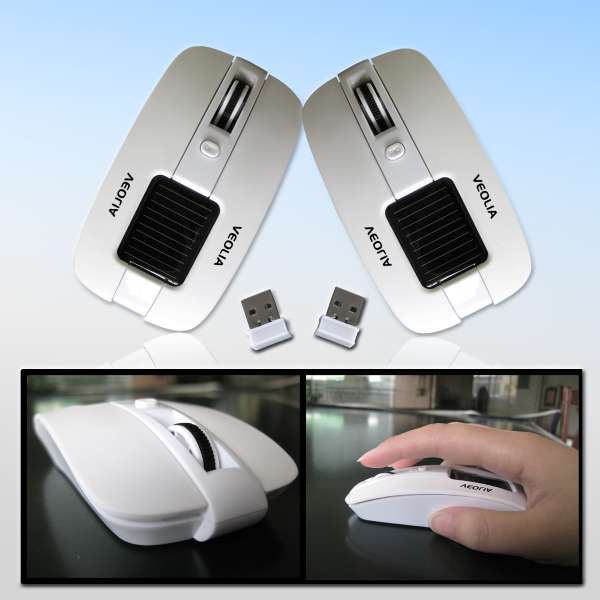 Promotional Solar Powered Wireless Mouse