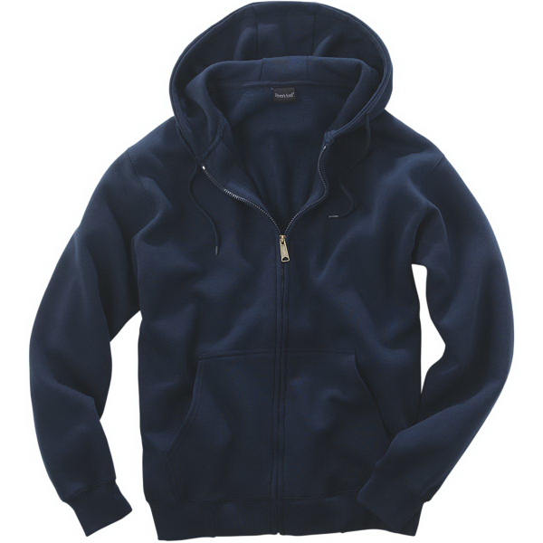 Printed Full-Zip Hooded Sweatshirt