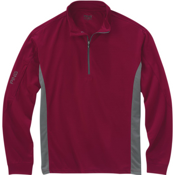 Customized Ping (R) Men's Backswing Quarter-Zip Pullover