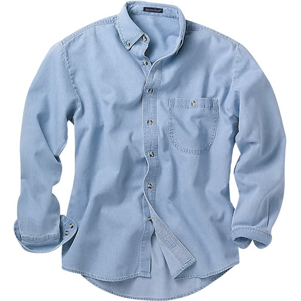 Promotional Long Sleeve Denim and Twill Shirts