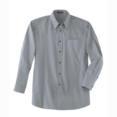 Customized Men's Solid Poplin Shirt
