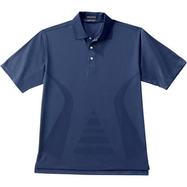 Imprinted Men's Body-Mapping Polo
