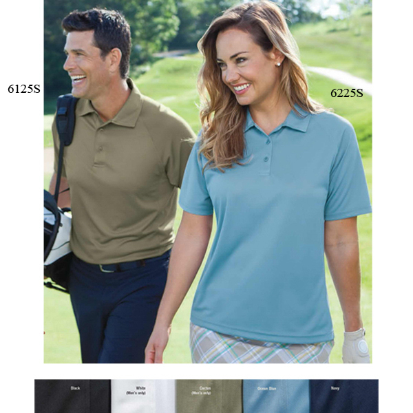 Personalized Men's Jacquard Polos