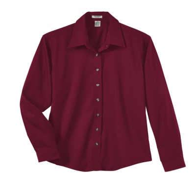 Printed Ladies' Long-Sleeve Easy Care Shirt