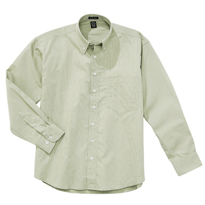 Promotional Men's Stripe Poplin Shirt