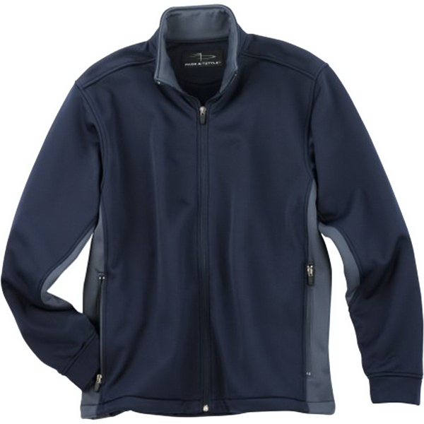 Promotional Page & Tuttle (R) Men's Color Block Microfleece Jacket