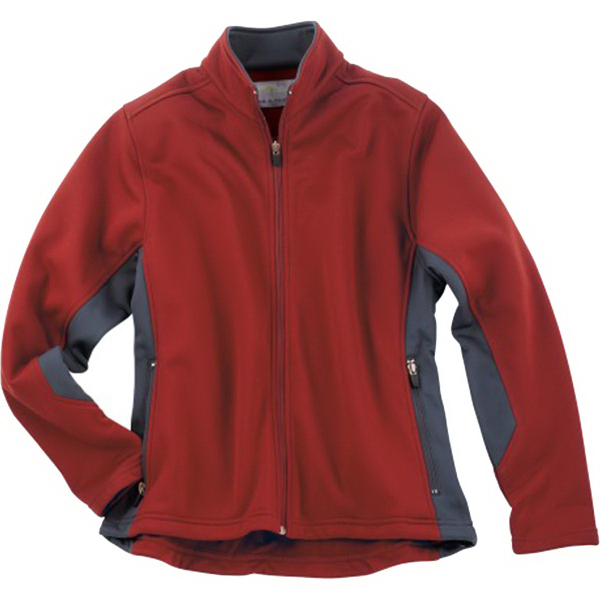 Imprinted Page & Tuttle (R) Ladies' Color Block Microfleece Jacket
