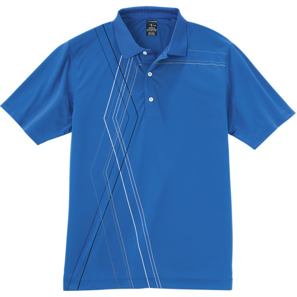 Promotional Men's Cool Swing (R) Diamond Argyle Print Jersey Polo