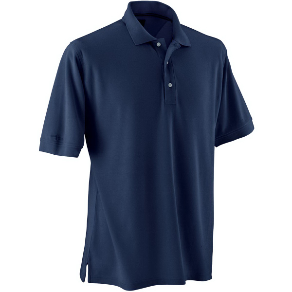 Promotional Page & Tuttle (R) Men's Signature No-Curl Pima Pique Polos