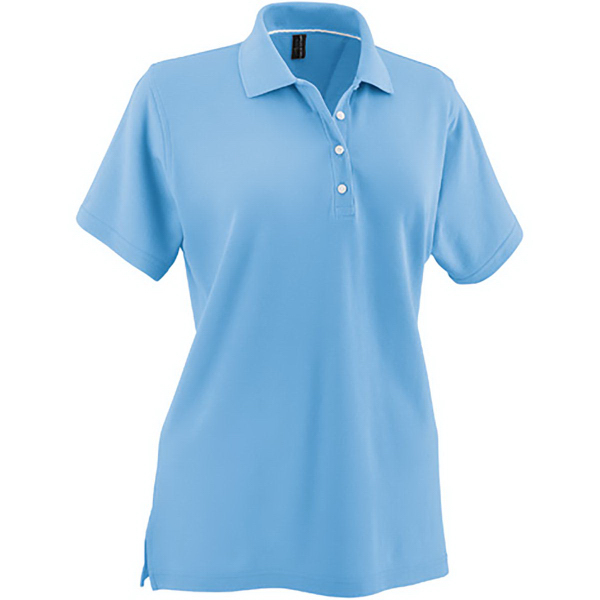 Imprinted Page & Tuttle (R) Ladies' Signature No-Curl Pima Pique Polos