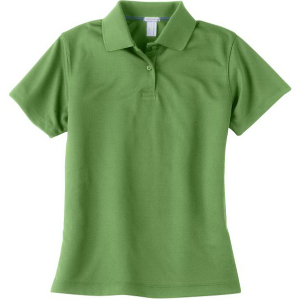 Imprinted Page & Tuttle Ladies' Cool Swing (R) Pique Polo