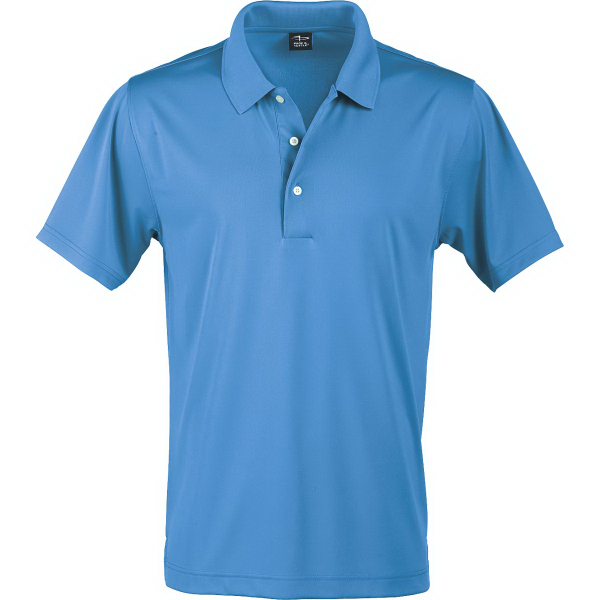 Printed Page & Tuttle (R) Men's Solid Jersey Polos