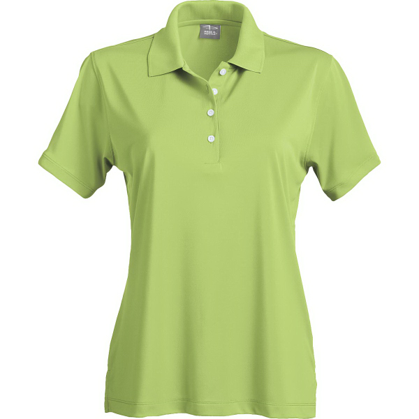Promotional Page & Tuttle (R) Ladies' Solid Jersey Polos