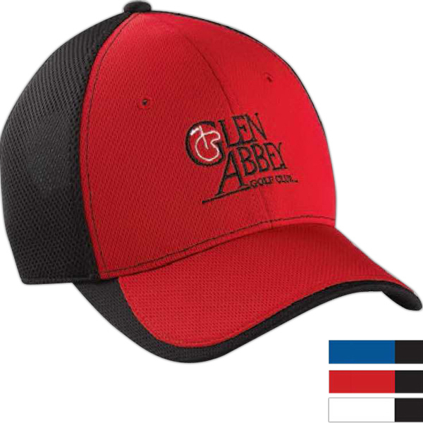 Promotional Cool Elite (R) Performance Color Block Mesh Cap