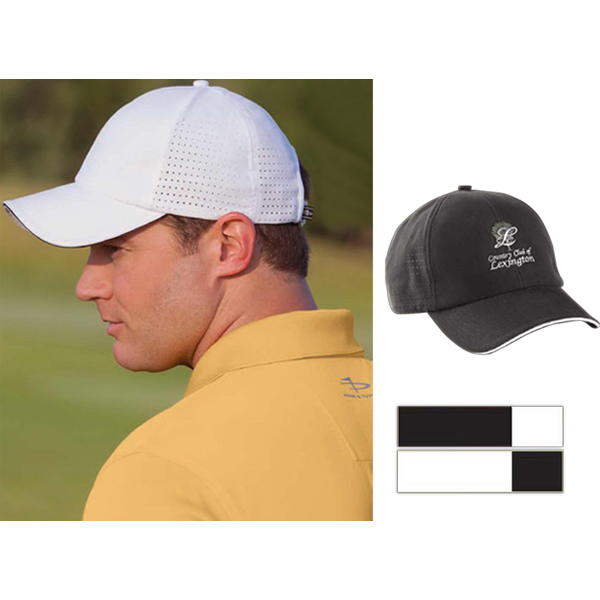 Custom Cool Elite (R) Performance Laser Vent Cap with Sandwich Bill