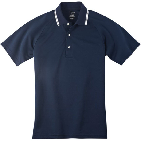 Customized Page & Tuttle Men's Cool Swing (R) Tipped Collar Polo