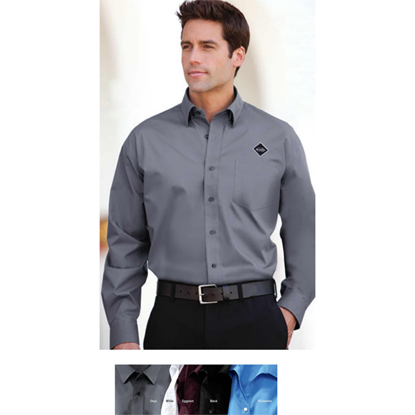 Personalized Men's Perfect Stretch Poplin Shirt
