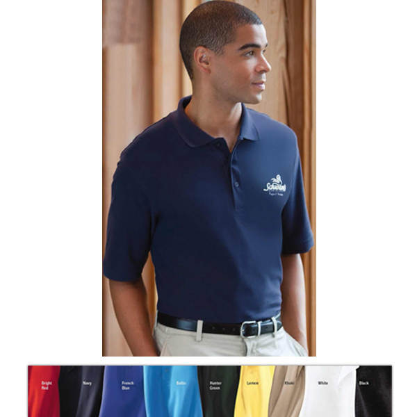 Customized Jockey (R) Men's Essential Ringspun Pique Polo
